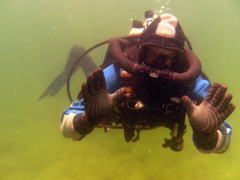 Me at Quarry using a Double hose regulator