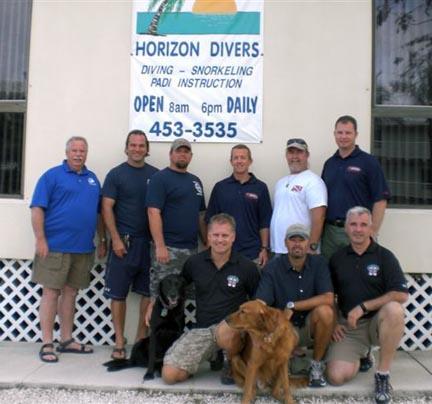 SDI/TDI/ERDI ITW Candidates w/Evaluators Key Largo, FL