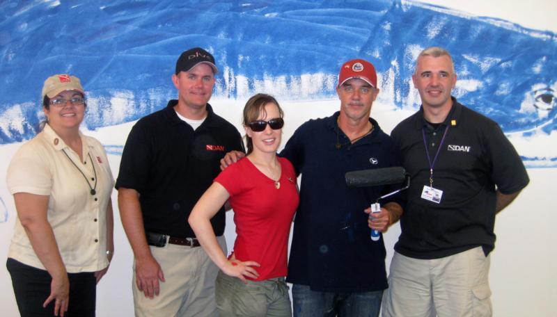 DAN and Wyland at BSA 2010