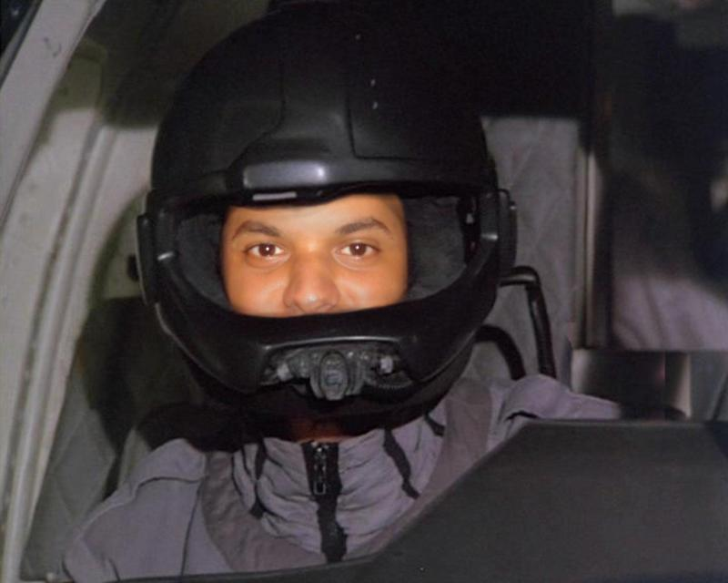 Me flying Airwolf