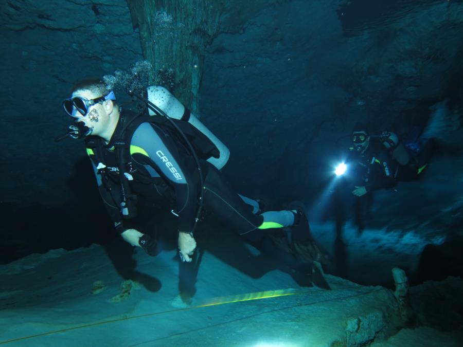 Mexico Cave Dive 1