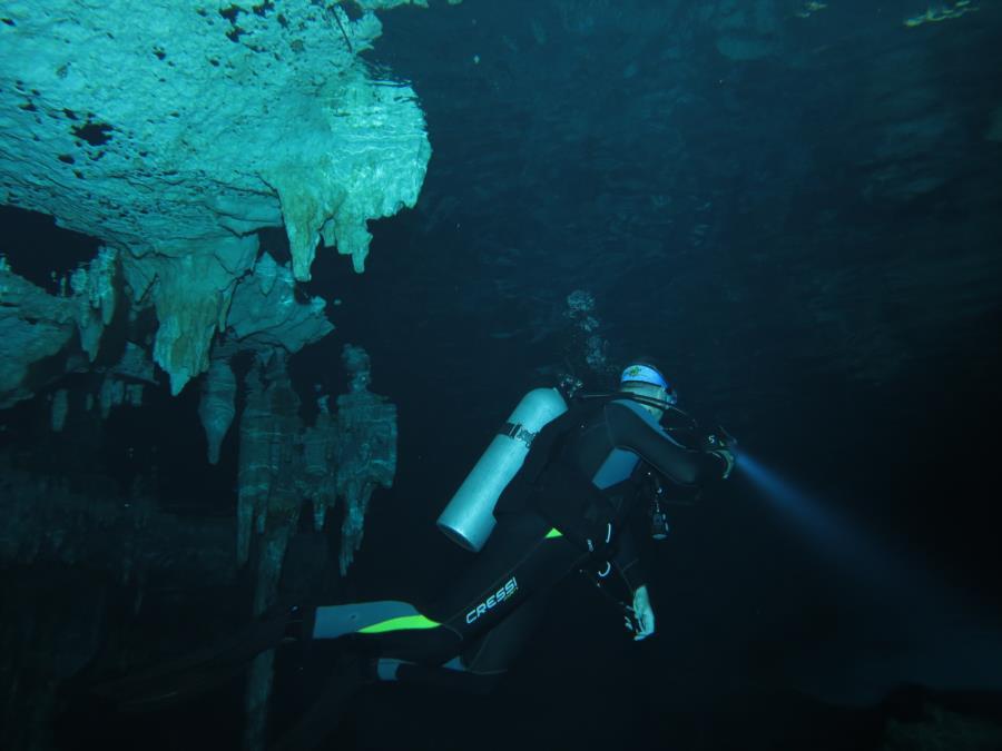 Mexico Cave Dive 2