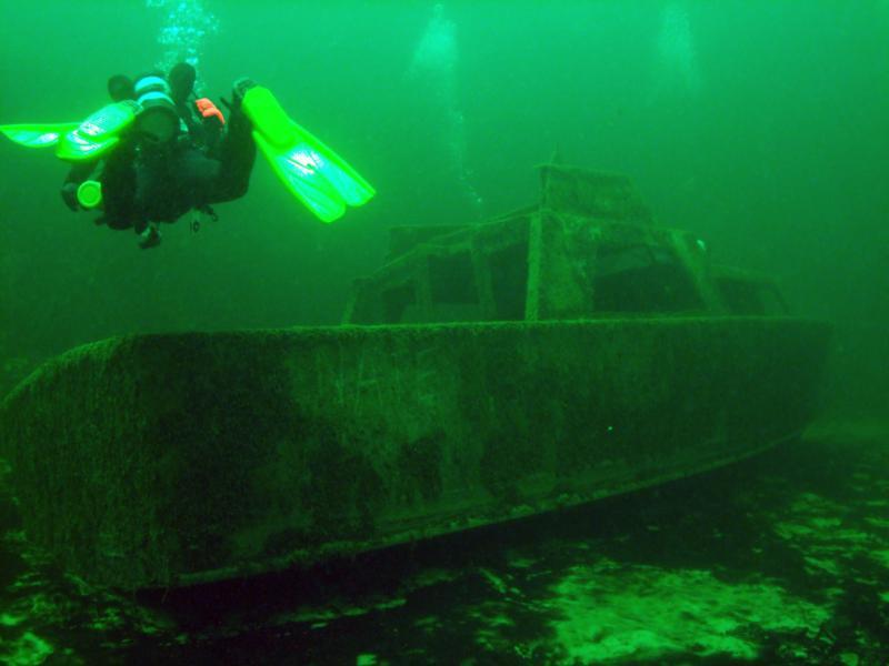 Ranger Wreck, Campsite Point, Lake Mohave AZ