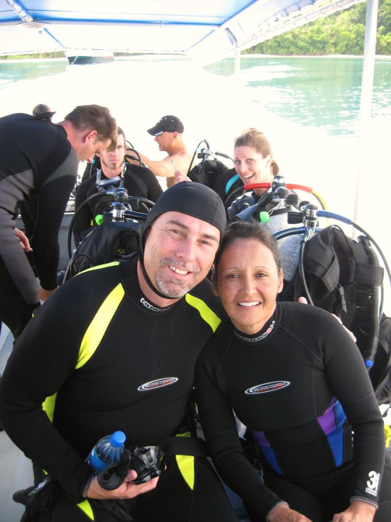 Palau Agressor Skiff dive