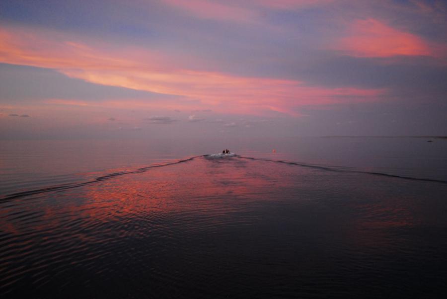Tubbataha Reef - May 2012 - Sunset Sula Sea