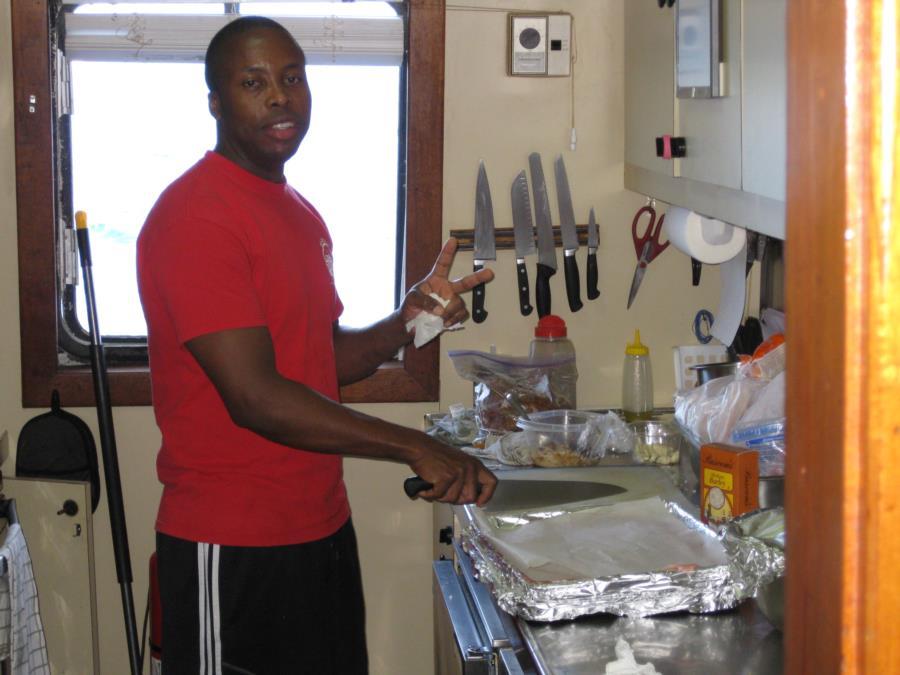 Kingsley - Aggressor Chef - May 2013