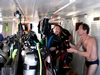 2003 - Sea Dragon MV Andaman - Dive time