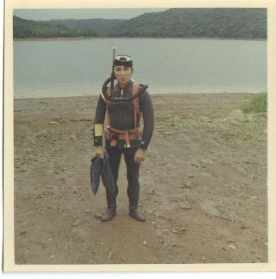 Grandpa Semenko Diving