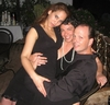 Little Black Dress party for Arthritus Foundation. My two great friends,Lydia and Jessi, and I. 2007