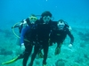 Louis` first ocean dive at Palancar Horse Shoe in Cozumel