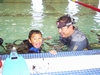 Teaching Ian to Scuba