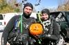 Robb and I at Mermet pumpkin carving