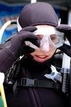 Discover scuba student