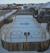Ideal backyard in the Winter time