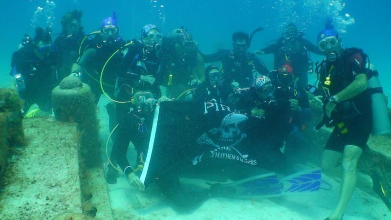 Dive Pirates in Cayman Brac