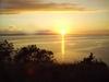 Sunset over LaGonave, Haiti.