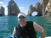 Me at Cabo Arch, right after diving at Lands End