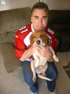 w/Scoop the Beagle B4 the big game