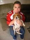 w/Scoop the Beagle B4 the big game