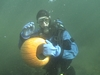 Annual Underwater Pumpkin Carving