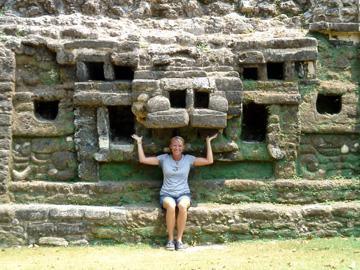 Belize Mayan Ruin