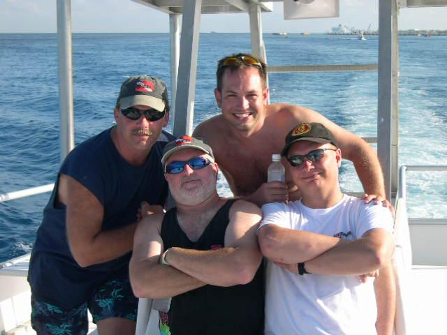 Cozumel with some good friends...