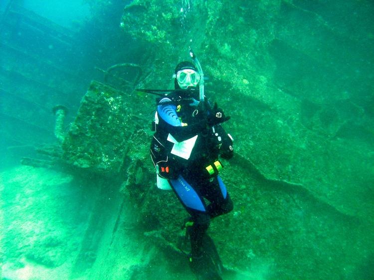 Tokisaki Wreck Kerama Islands