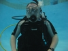 Me on last confined water dive