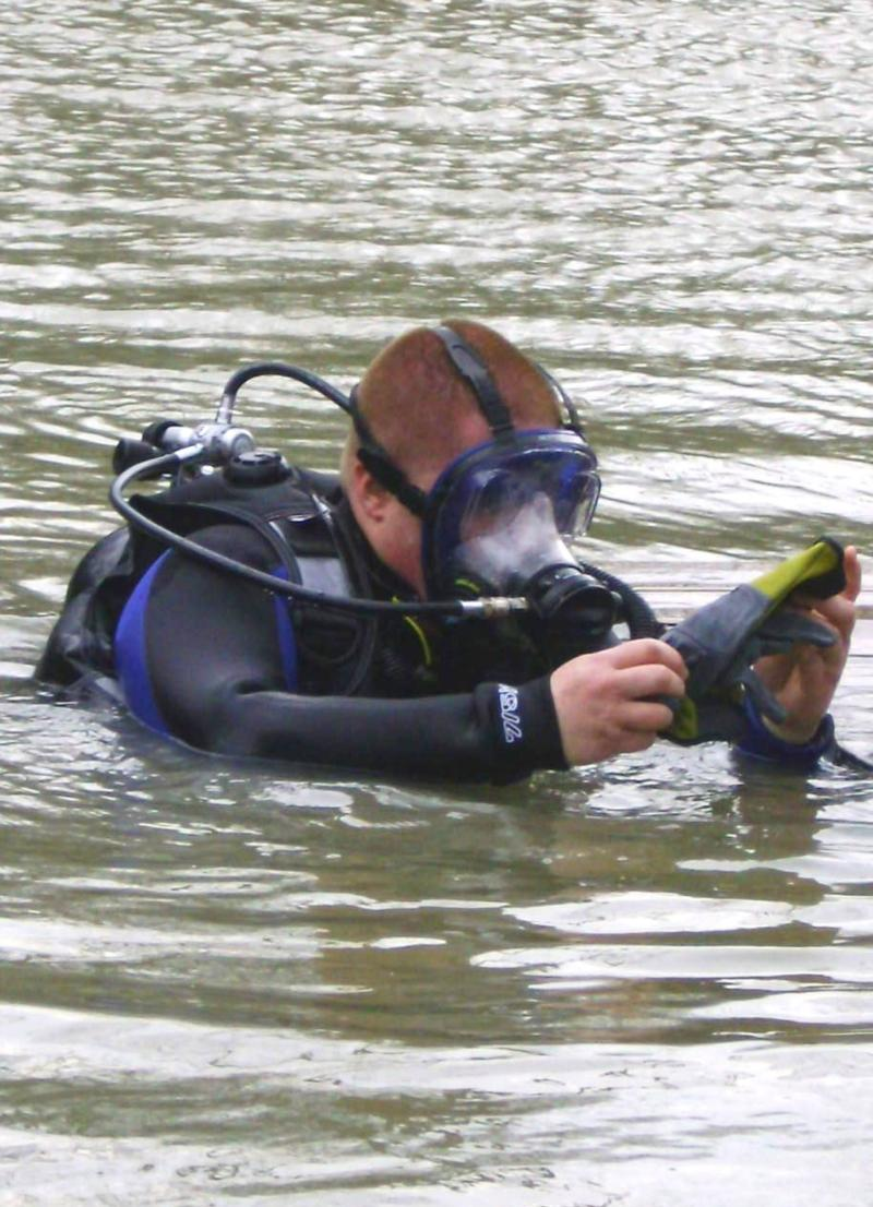 First Dive of the season 2009!