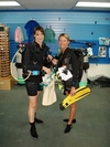 My friend/instructor in St. Thomas and me (I`m on the left)