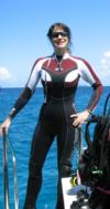 "New 3mm ""superhero"" wetsuit! LOL"