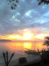 nice sunset after an exhilarating dive
