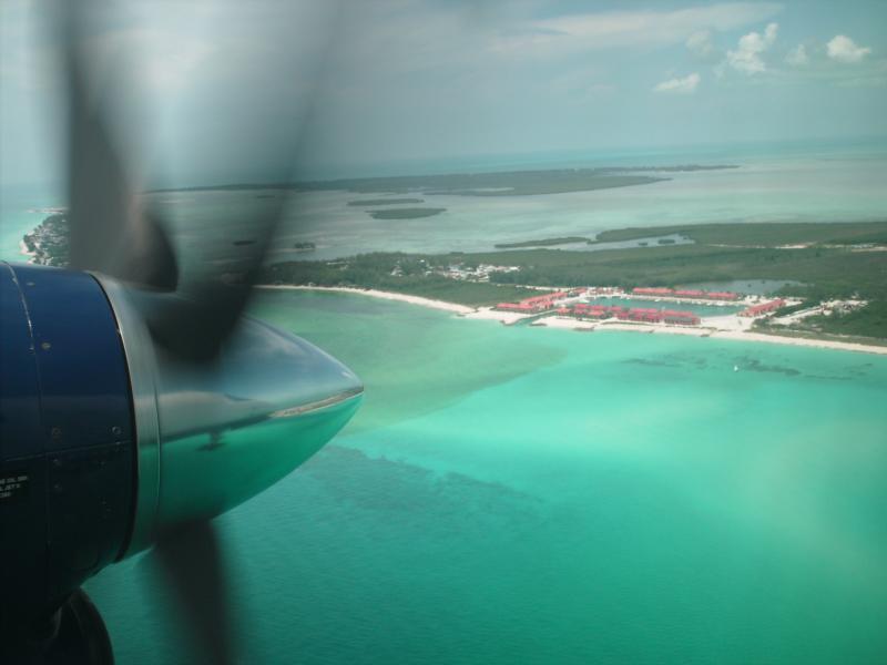 Landing in South Bimini