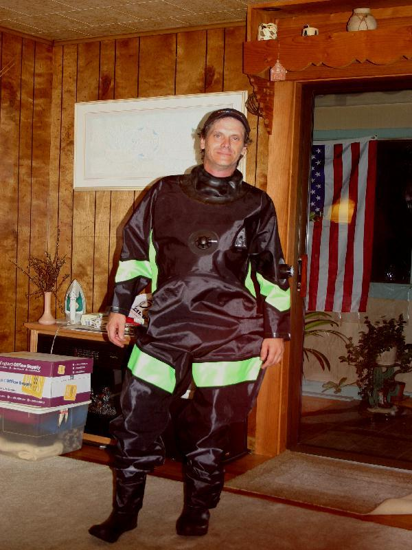 My New Dry Suit!!