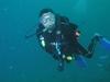 Streamlined Diver Position for Maximum Depth