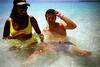 Beachfun with Divebuddy Prudi on the Maldives