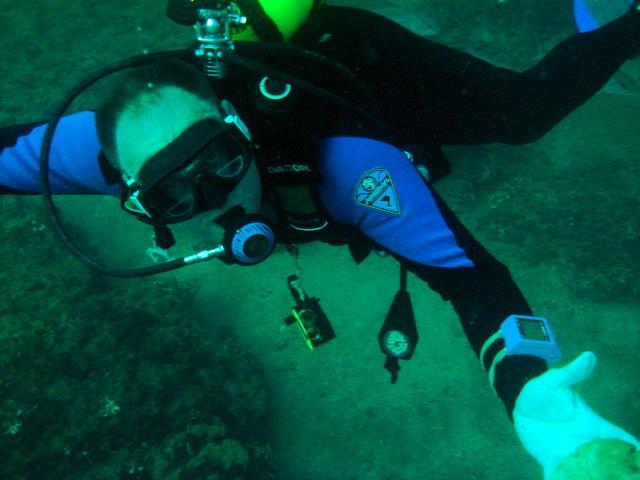 Diver self protrait of myself in Destin