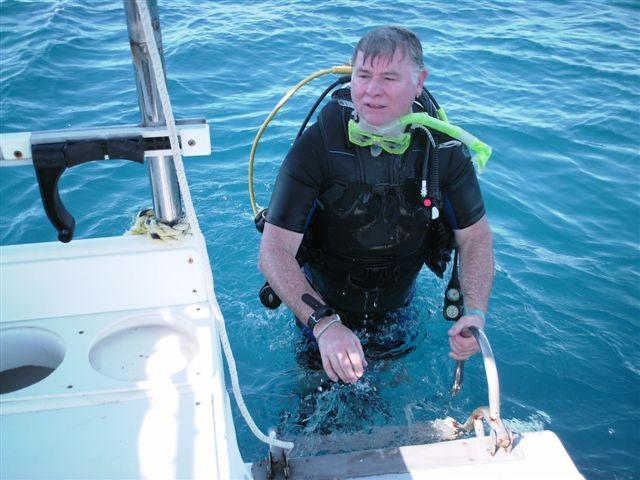 End of a great dive in Cozumel