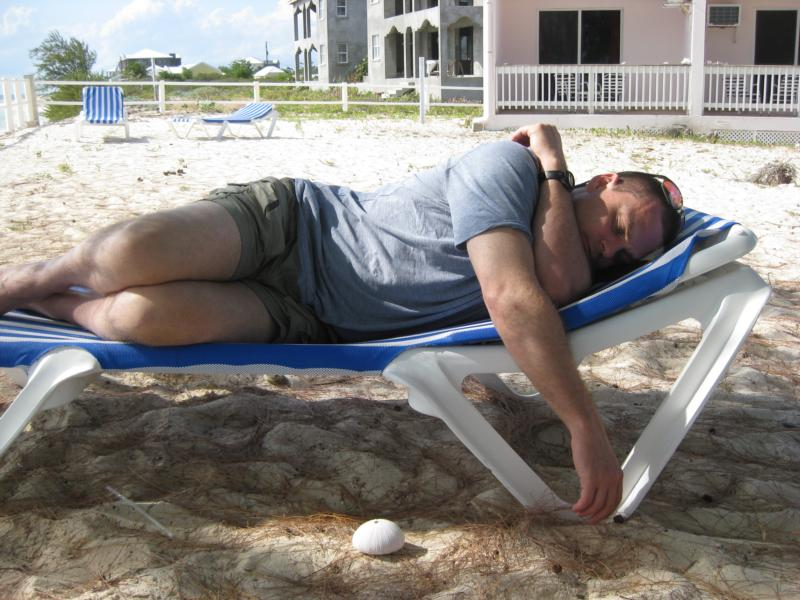 Nap time, Bohio Resort style