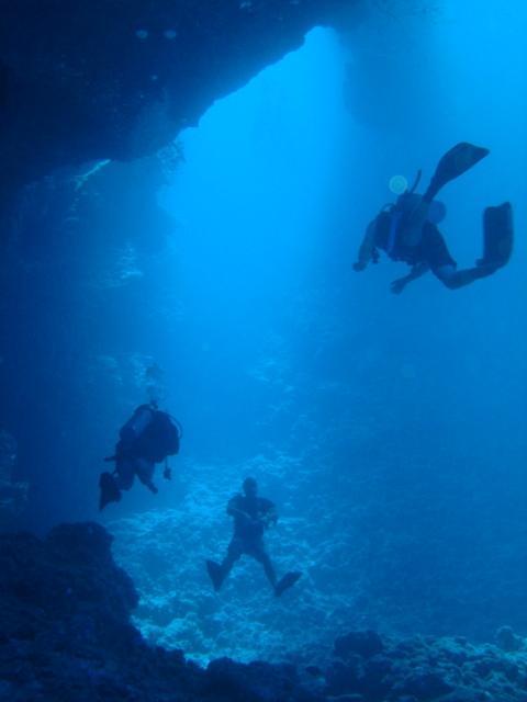 Palau Blue Holes