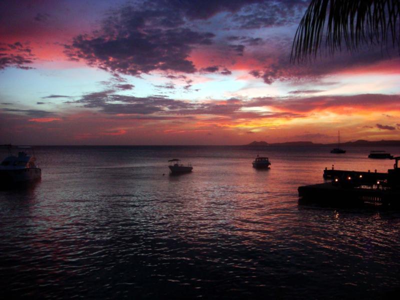 Sunset at Buddy's (Bonaire)