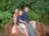 Kids on horseback in Hapia Tonga