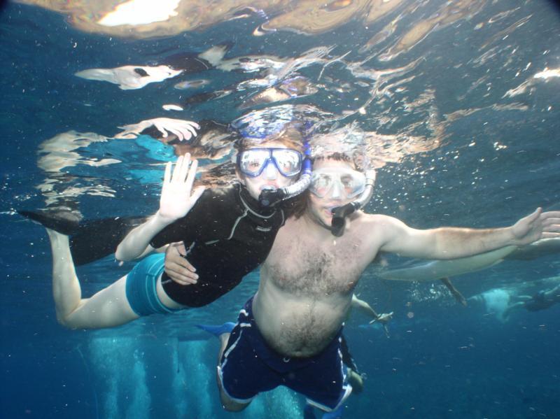 Snorkeling in Molokini