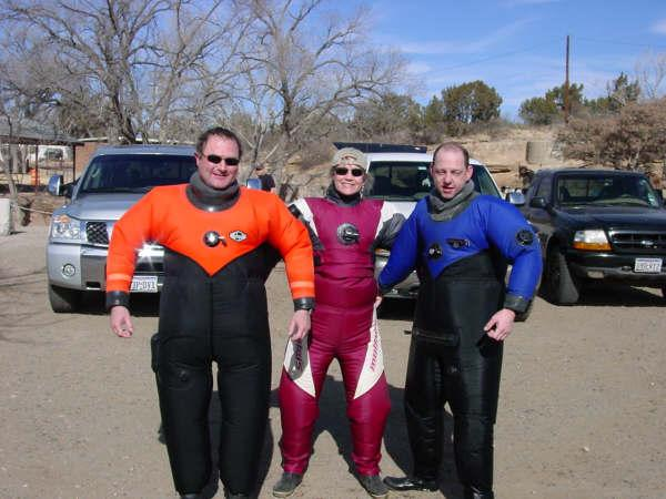 """""""Stay Puffs"""" at the Blue Hole, NM"""