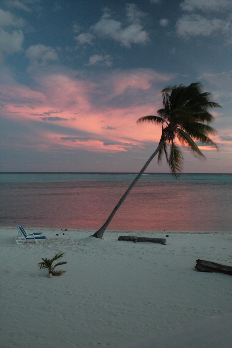Little Cayman Sunrise - November 7, 2007