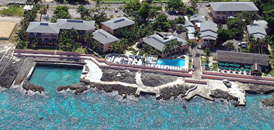 Overhead View of Sunset House