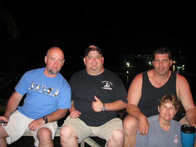 DiveBuddies...James, Me, Neil, and Karen