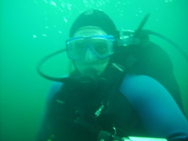 Diving at Mac Robeson Quarry