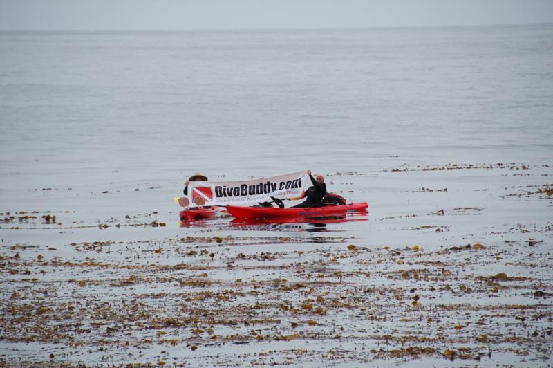Kayak diving Old Marineland 6-19-11