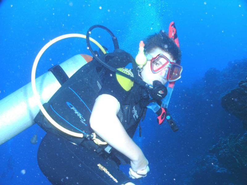 14 yr old Master Diver Grandson